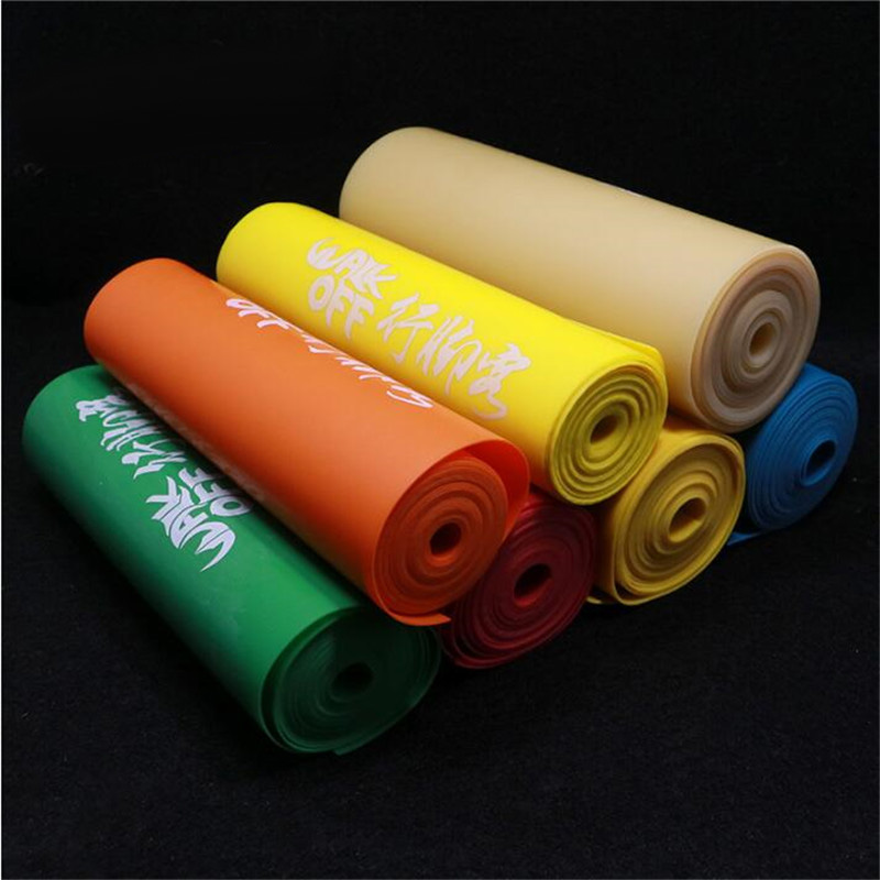 Slingshot Flat Rubber Band Thickness Multicolor Catapult Natural Latex Flat Elastic Elasticity For Hunting 2m Length
