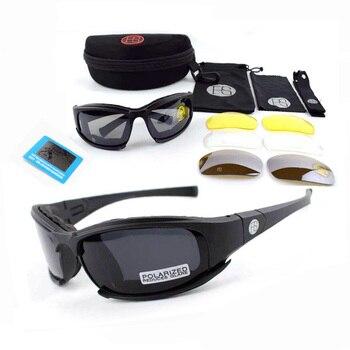 dadbac8e38 X7 C5 militar gafas de sol táctico gafas Airsoft gafas de tiro al aire  libre deporte gafas de protección para el ciclismo senderismo caza