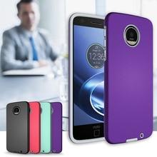 d34165ad7bf Effelon Luxury TPU + PC Hybrid Shockproof Phone Case For Coque Motorola Moto  Z Cases Cover