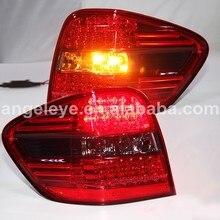 Для BENZ для W164 светодиодный задний светильник s задний светильник 2006-2008 год красный черный цвет LF