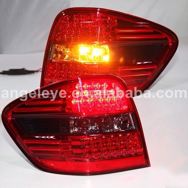 Pour BENZ pour W164 feu arrière LED feux arrière rétro lumière 2006--2008 année rouge noir couleur LF
