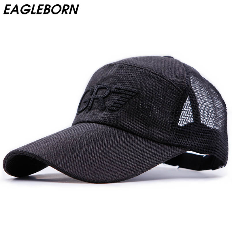 2018 New Style Spring Mesh Snapback Letter Baseball Cap Quick Dry Summer Sun Hat Breathable Chapeu Casual Mesh joymay quick drying casual baseball cap breathable snapback sun hat fishing hat fashion cap b293