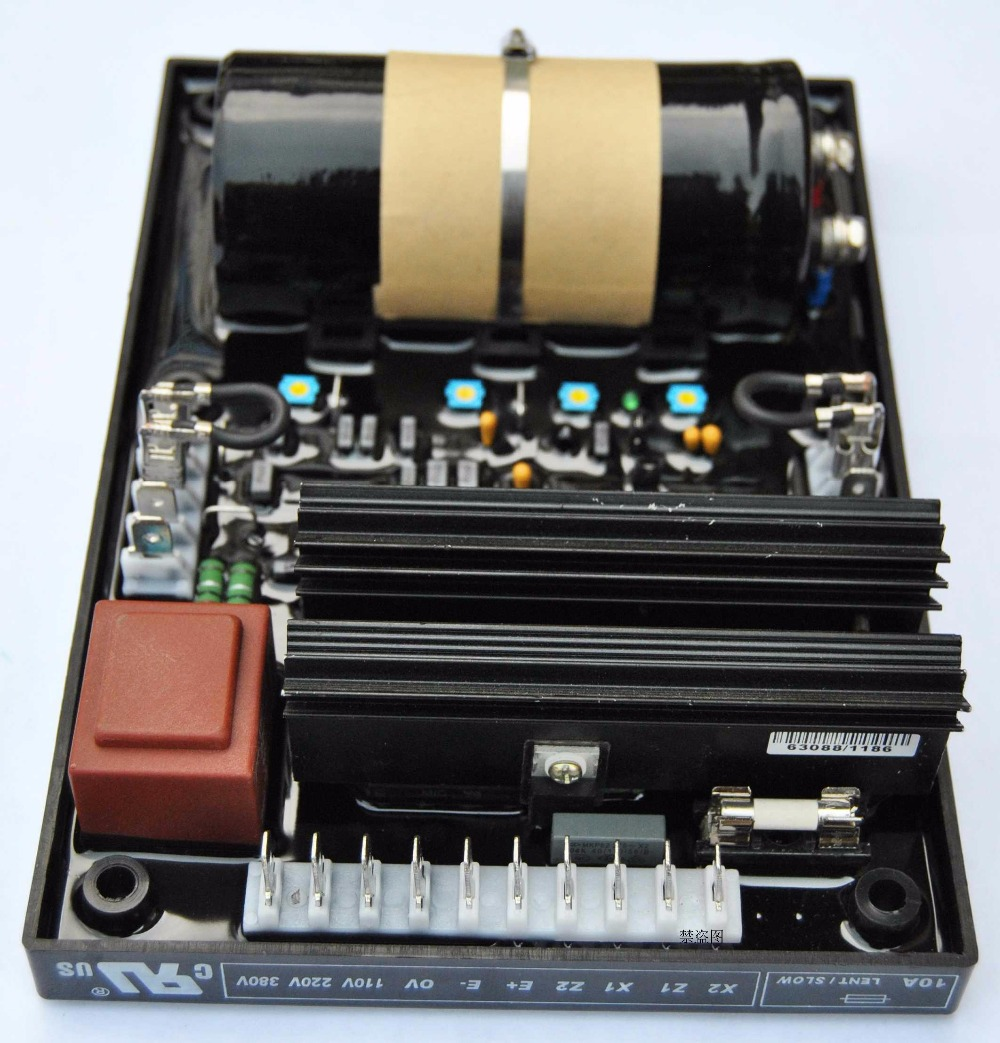 free shipping Generator AVR R449 Generator Parts Automatic Voltage Regulator rgv12100 robin generator avr automatic voltage regulator replacement parts