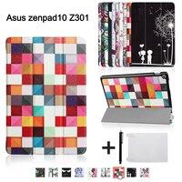 Magnetic Cover Case For ASUS Zenpad 10 Z301MLF Z301ML Z301 10 1 Tablet 2017 New Release