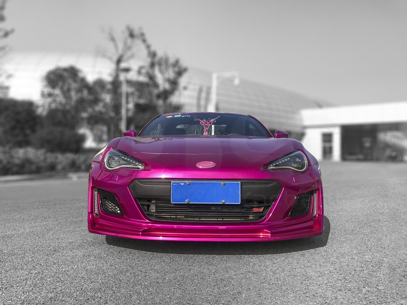 Car Styling Fiber Glass Frp Bodykits Fit For 2017 2018 Subaru Brz Aimgain Style Body Kit Front Bumper Caps Lip Fender Diffuser In Body Kits From Automobiles