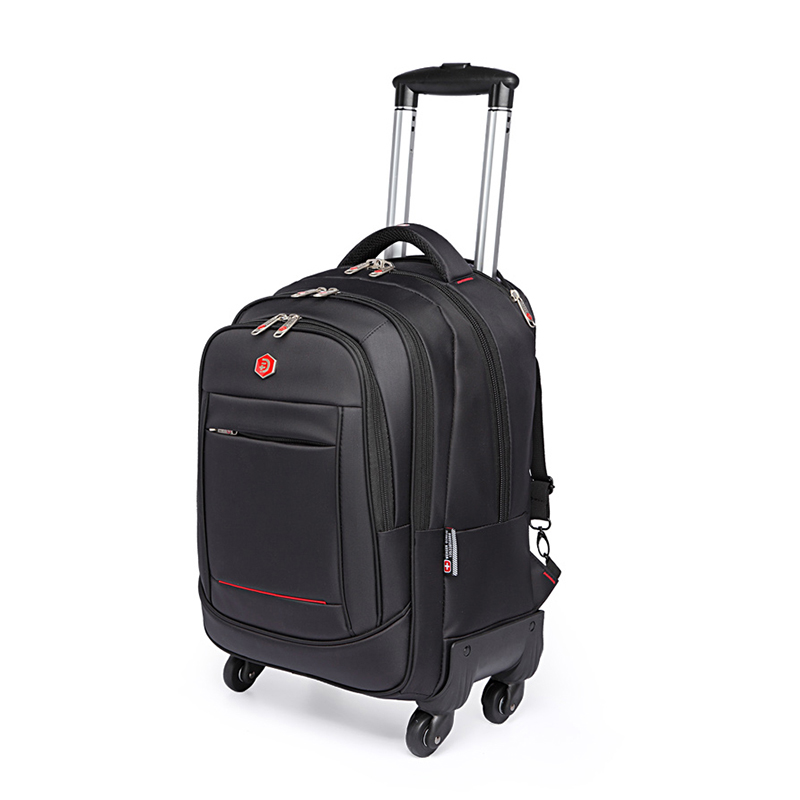 LeTrend Multifunction Oxford Rolling Luggage Men Travel bag Shoulder Bags Trolley Case Cabin Suitcase Wheels laptop bag