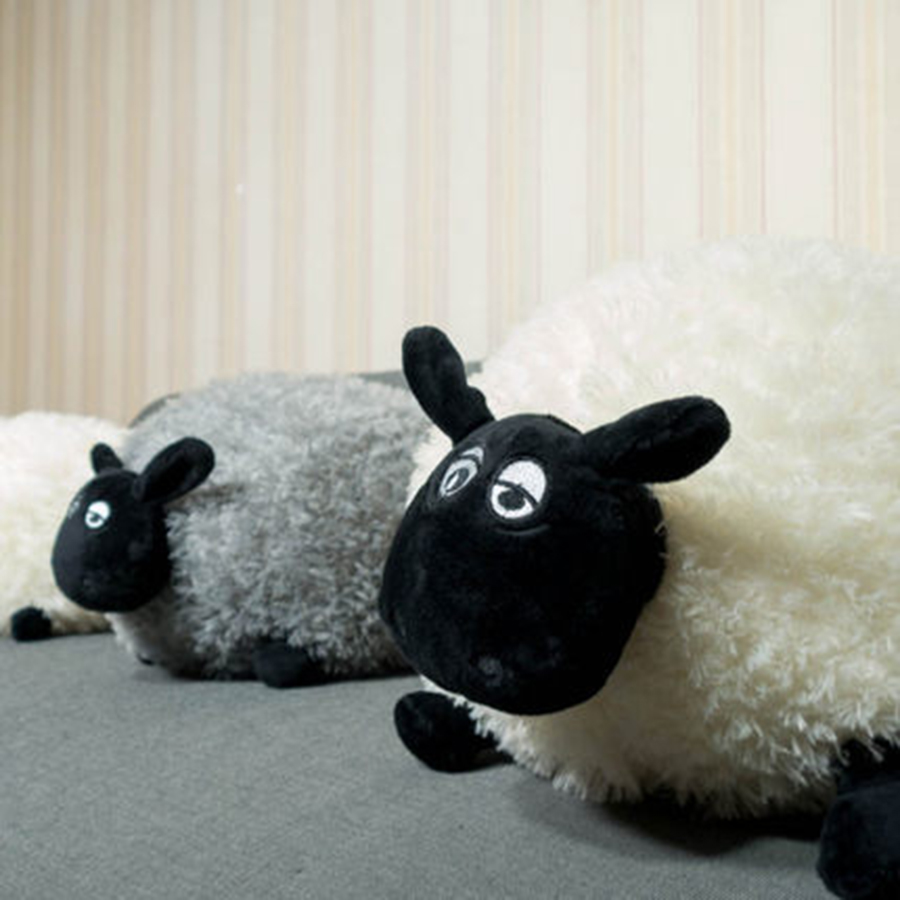 Black Sheep Stuffed Animal Plush Toys For Children Birthday Gifts