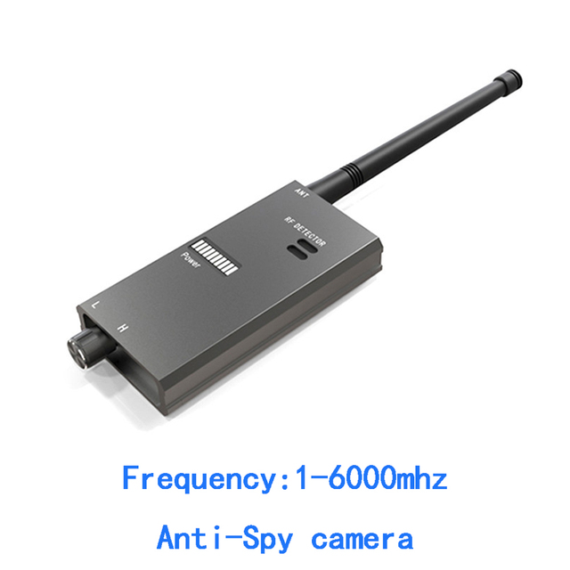 1 PCS Wireless Signal Finder Microwave Scanner Full Range RF Camera Detector Protable GSM Sensor Mini Hidden Camera use in Hotel