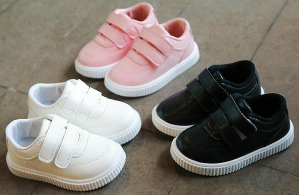 High Quality Male and Female Leather Sneaker for Kids