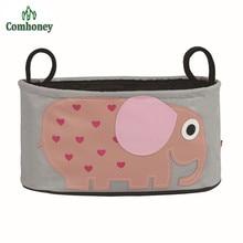7 Colors Baby Cart Basket Diaper Bags For Mom Brand Baby Travel Nappy Handbags Bebes Organizer Waterproof Bag CH0011