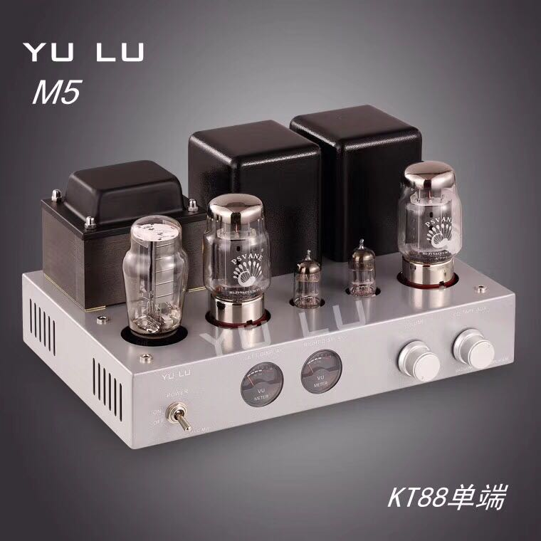 цена на KT88 Single Ended Tube Amplifier 5Z3P Rectifier 6N1 Tube Hifi Audio Vacuum Tube Pwer Amplifier