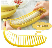 New useful tools Banana slicer fruit salad essential practical and convenient fruit slicer cut banana kitchen tools