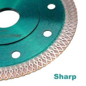 Image 5 - DOERSUPP zielony 105/115/125mm piły diamentowe ostrze spiekane siatki Turbo tarcza tnąca do granit marmur płytki ceramiczne