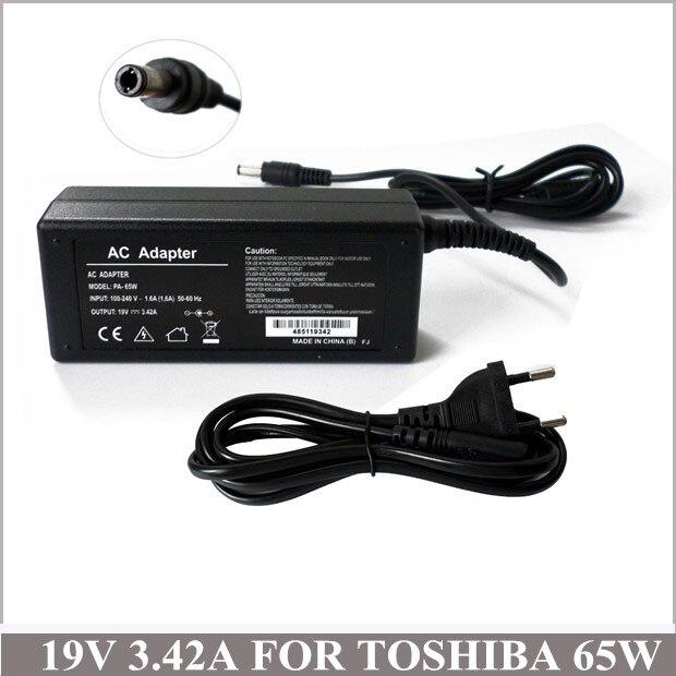 19 V 3.42a Carregador Universele Notebook Ac Adapter Oplader Voor Cadernos Toshiba Satellite A505-s6004 M55 M65 P205 Pa-1500-02