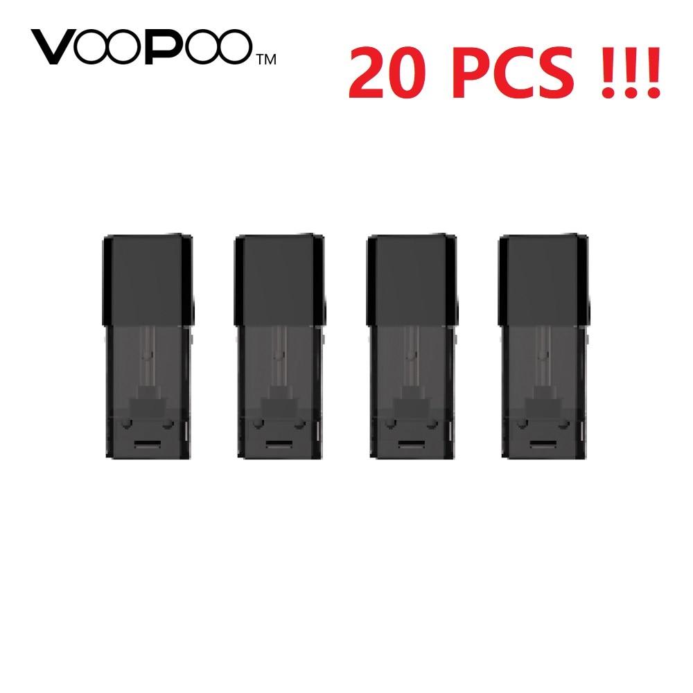 Nouveau Original 4 pcs/paquet VOOPOO glisser NANO Pod cartouche 1.0 ml e-cig Vape accessoires pour VOOPOO glisser NANO Pod Kit système de dosette