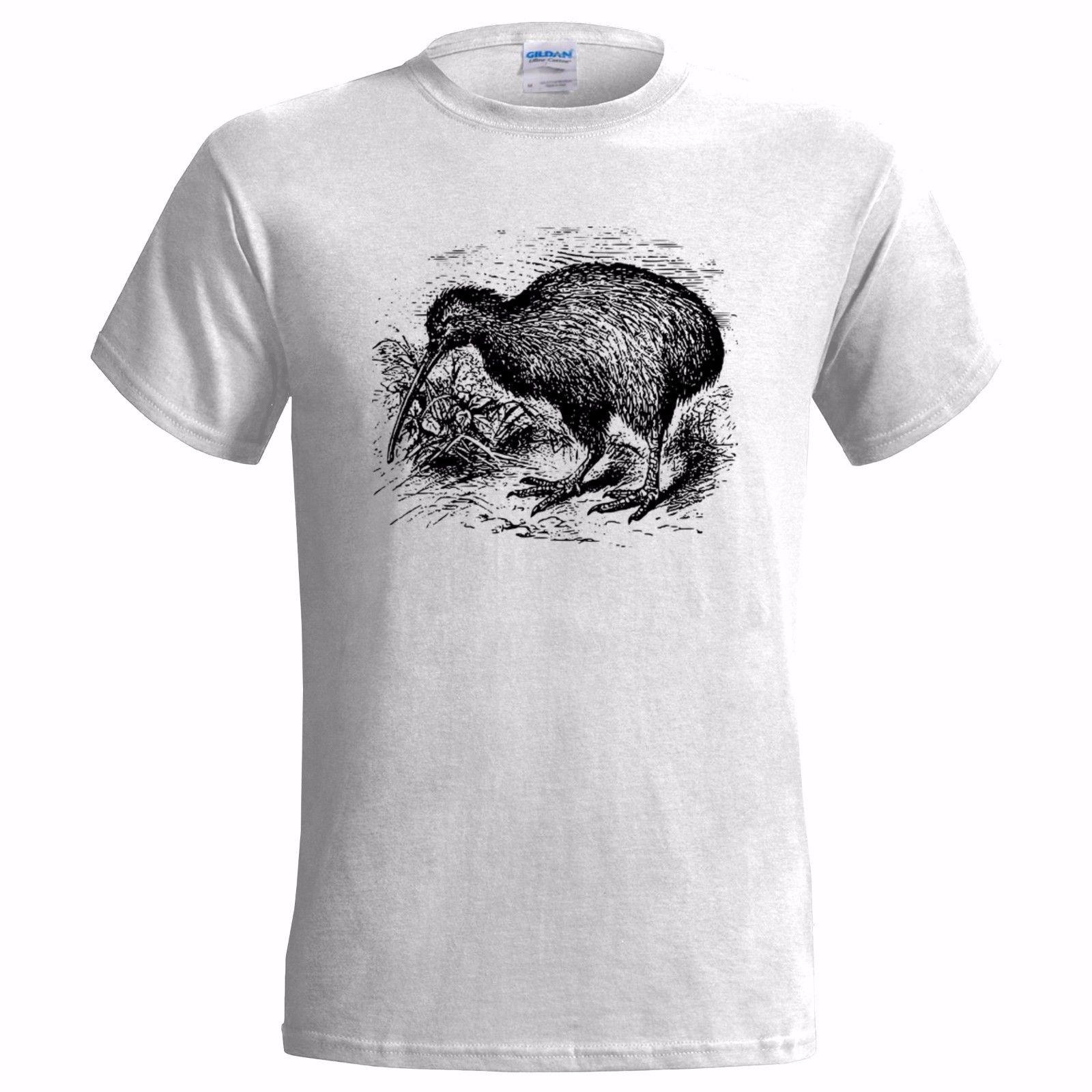 Tops & Tees Men's Clothing Men O Neck Custom Print T Shirt Kiwi Bird Shirt Kiwi Bird Heartbeat T Shirt Funny Tees Tops Fitness Streetwear Harajuku