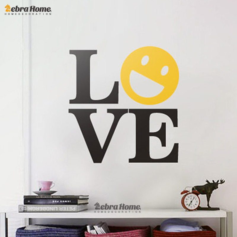 Aliexpress Buy Art LOVE Word Letter Wall Decals Stickers For