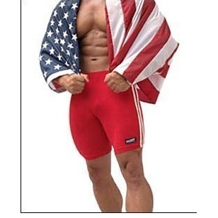 Частные индивидуальные BOYTHOR мужской плотно трусики 100% хлопок кальсоны одежду Тренировки фитнес брюки леггинсы