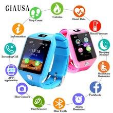 Купить с кэшбэком Smart Watch Kids&Women&Men 2.0M Camera Bluetooth Call Smartwatch support SIM TF Card for IOS Android Phone Children watch GT08