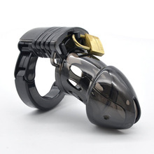 4cm Plastic Cock Cage Lockable Penis Lock Male Sex Products Chastity Belt Ring Lock Chastity Device Tool Erotic Toys for Men недорого