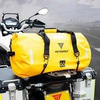 40L 66L 90L Motorcycle Tail Package handbag Long distance Backpack 6 Level Waterproof Large Capacity Motorcycle Bag