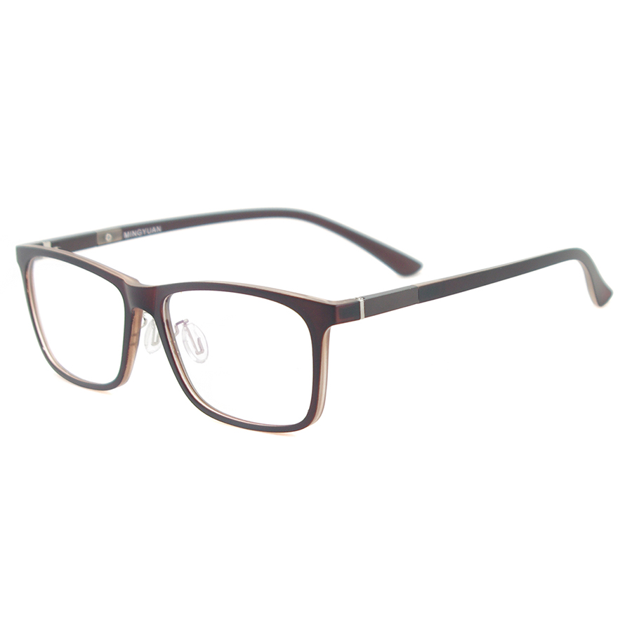 Image 5 - Men Rectangular Flexible Plastic Lightweight TR90 Computer Glasses Women Eyeglasses With Anti Blue Light-in Women's Blue Light Blocking Glasses from Apparel Accessories