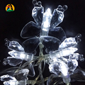 2017 50LED 5M Colorful Butterfly LED Holiday Lights Wedding Party Decoration AA Battery Operated Novelty Decor. String Light