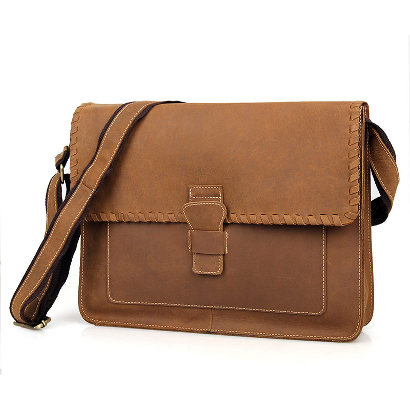 J.M.D Genuine Leather Satchel Crossbody Bag Sling Bag Women Messenger Bag Purse 1009B