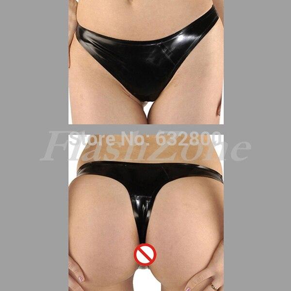Buy Free shipping!! Latex G-String rubber briefs girls