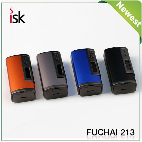 Sigelei FuChai 213 Mod Newest 100% Original FuChai213 TC Mod 10w-213W 0.1-3.0ohm all colors in stock боксмод sigelei fuchai 213w tc blue силик чехол
