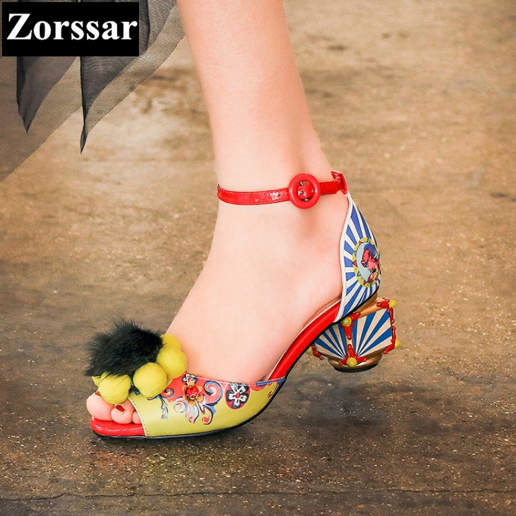 {Zorssar} 2017 NEW Large size 34-43 women sandals wedding shoes peep toe Pump shoes fashion summer womens high heels party shoes zorssar brand 2017 high quality sexy summer womens sandals peep toe high heels ladies wedding party shoes plus size 34 43