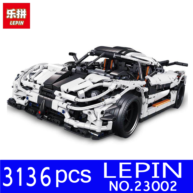 где купить LEPIN 23002 3136Pcs Technic Series The MOC 4789 Changing Racing Car Set Children Educational Building Blocks Bricks Toys Model по лучшей цене