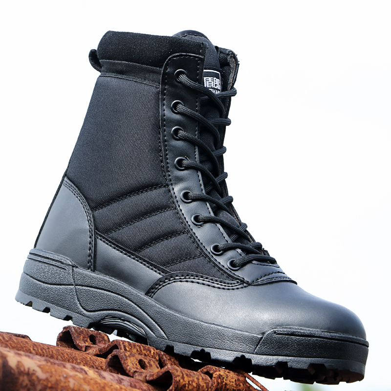 Men Shoes Boots Desert Tacticos Working Army Militares Zapatos Feamle