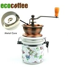 Amoladora manual de la NUEVA LLEGADA BM-148 clásica máquina de café Espresso Envío libre molinillo de café manual