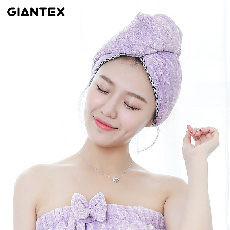 Microfiber Hair Towel Reviews: GIANTEX Soft Women Bathroom Super Absorbent Quick Drying