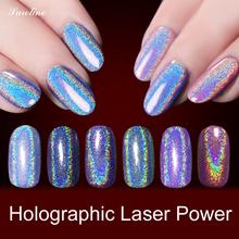 holographic powder Mirror Powder Effect Glitter Dust Magic Shimmer Nail Art Powder Decoration Tips Sequins Chrome Pigment