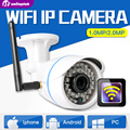 HD 720 P 1.0MP Wifi Cámara IP Inalámbrica Al Aire Libre Impermeable 1080 P 2MP Onvif de Cámaras de Seguridad de Vigilancia CCTV Bala Inteligente XMEye