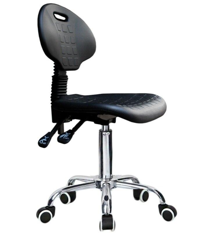 Laboratory and workshop chair pu foam seat factory Test room stool free shipping xeltek private seat tqfp64 ta050 b006 burning test