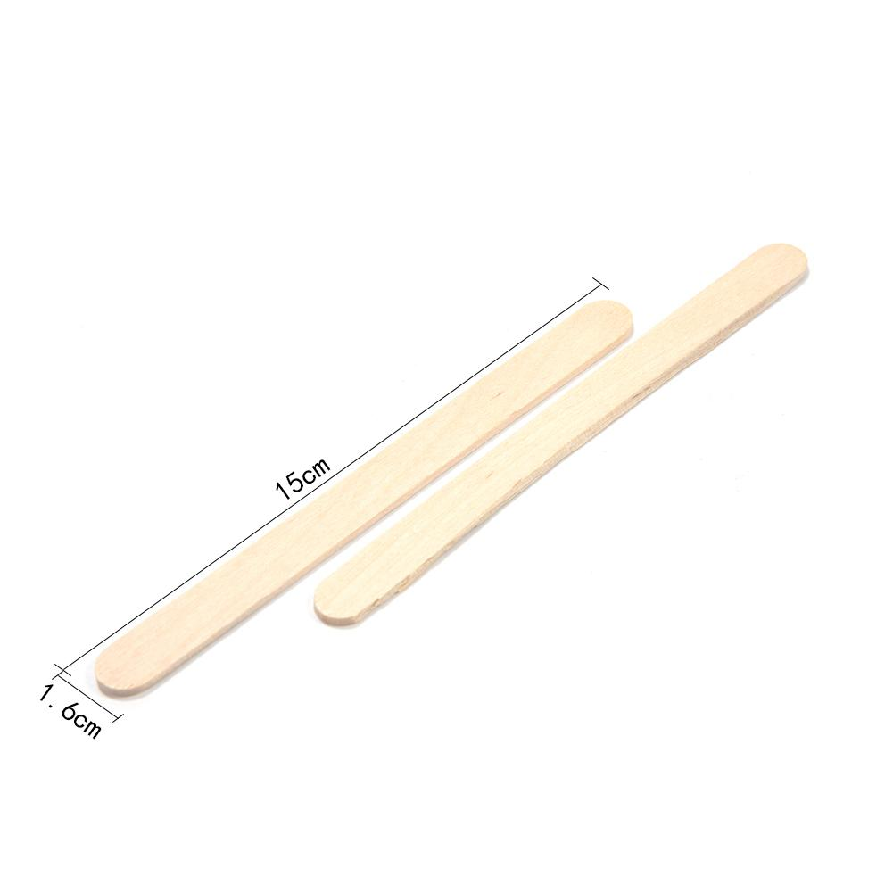 50 шт./партия цветные деревянные палочки для мороженого из натурального дерева палочки для мороженого Дети DIY ручной работы мороженое, конфета на палочке Инструменты для торта - Цвет: H