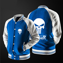 In 2017 the new free shipping Marvel Punisher Skull Comics  Supper Hero  jacket  no hat,The highest quality, USA size.