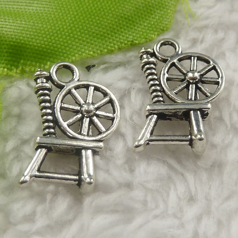 Impartial 256 Pieces Antique Silver Chair Charms 19x12x5mm #4403 Jewelry Sets & More Charms