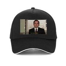 I Am Dead Inside Quotes Funny cap The Office Michael Scott Baseball Caps Unisex Tumblr Grunge Fashion Men Women Snapback hat