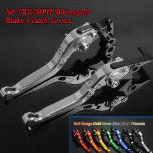 For TRIUMPH SPEED FOUR TRIPLE MASTER CNC Aluminum Motorbike Levers Motorcycle Brake Clutch Foldable Extendable Adjustable