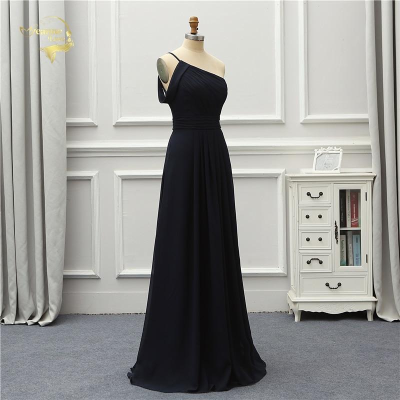 Jeanne Love Formal Luxury Evening Dress New Arrival Black One Shoulder Party Robe De Soiree Vestido De Festa OL5221 Prom Gowns 5