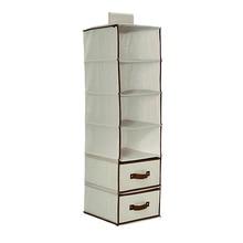 6-Shelf Shelf Hanging Bag Underwear Closet Nonwovens Storage Closet Organizer Drawer Hanger Foldable