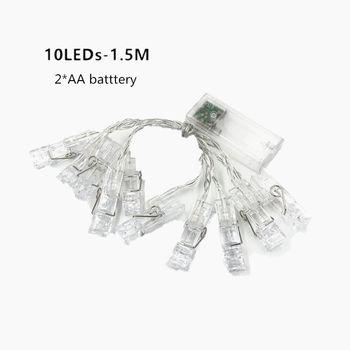 1.5m 10leds photo clip holder led