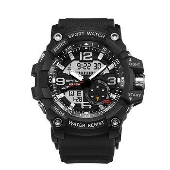 цена на Luxury Brand Men Sport Digital Led Watch G Military Multifunction Shock Wristwatch 5atm Waterproof Relogio Masculino
