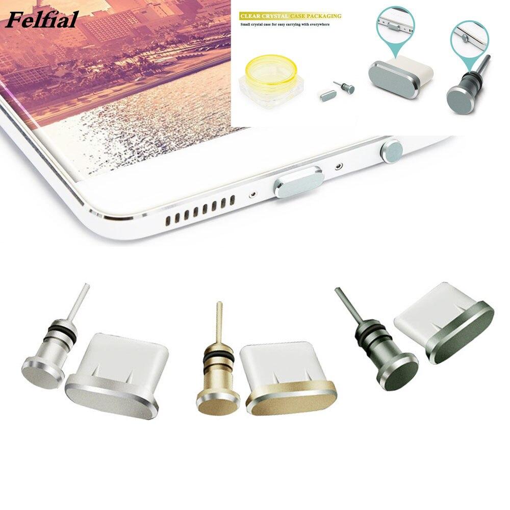Набор заглушек от пыли для телефона Type-C, USB порт Type-C и разъем для наушников 3,5 мм для Samsung Galaxy S20 S9 Plus, Huawei P40, P30 lite