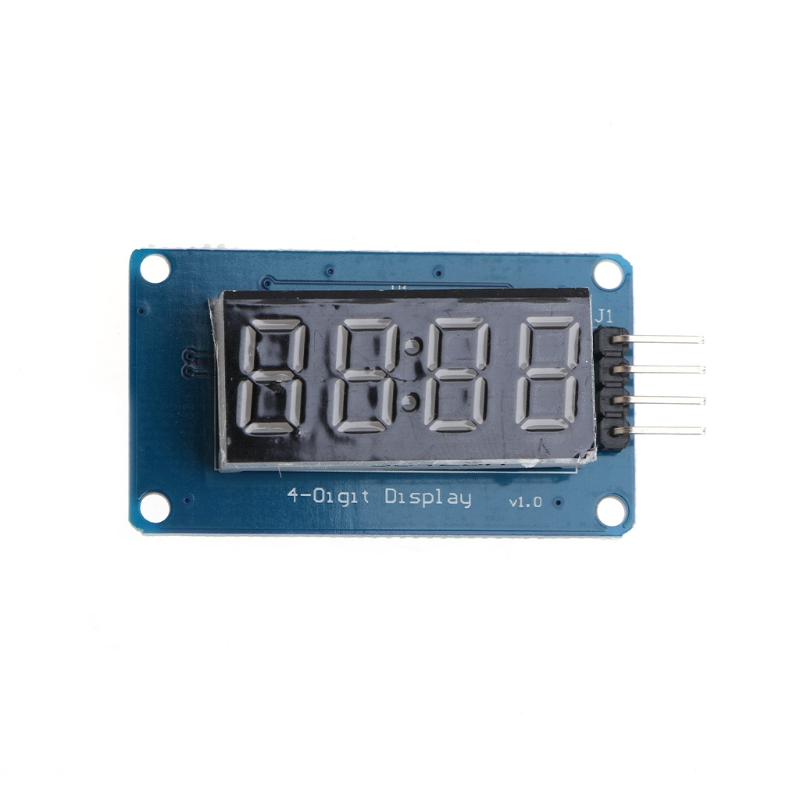 4 Bits TM1637 Digital Tube LED Clock Display Module Due UNO 2560 R3 For Arduino