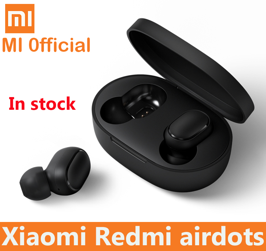 Xiaomi Redmi Airdots True Wireless bluetooth Earphones TWS 5 0 Original xiaomi Air Airdots pro headset